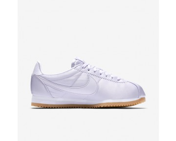 Nike Classic Cortez QS Womens Shoes Barely Grape/White/Gum Yellow/Barely Grape Style: 920440-500