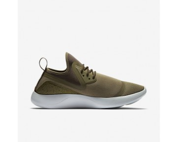 Nike LunarCharge Essential Mens Shoes Medium Olive/Black/Volt/Light Bone Style: 923619-200