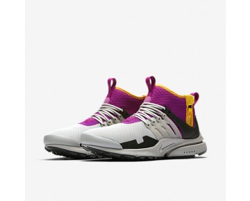 Nike Air Presto Mid Utility Mens Shoes Granite/Rave Pink/Pro Gold/Granite Style: AA0868-006