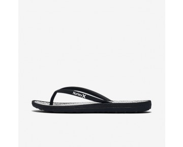 Hurley One And Only Printed Womens Shoes Black/White Style: HUR026-002