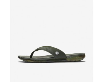 Hurley Phantom Free Mens Shoes Carbon Green Style: HUR148-302