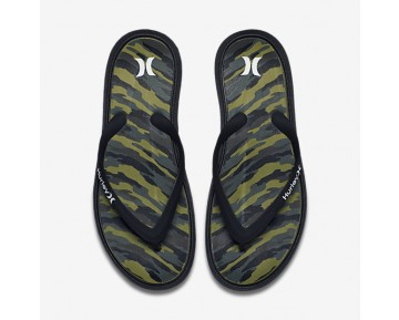 Hurley One And Only Printed Mens Shoes Black Style: HUR153-002