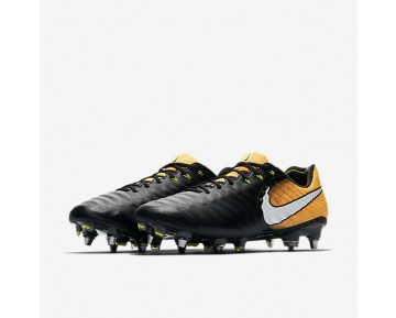 Nike Tiempo Legend Vii Sg-Pro Soft-Ground Football Boot Mens Shoes Black/Laser Orange/Volt/White Style: 897753-008