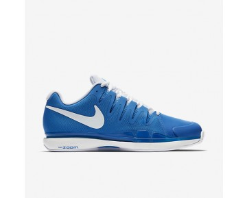 Nikecourt Zoom Vapor 9.5 Tour Clay Tennis Mens Shoes Light Photo Blue/White Style: 631457-401