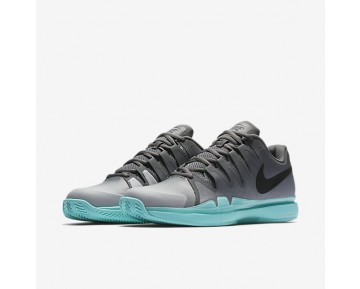 Nikecourt Zoom Vapor 9.5 Tour Clay Tennis Mens Shoes Dark Grey/Aurora/Wolf Grey/Black Style: 631457-001