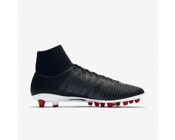 Nike Mercurial Victory Vi Dynamic Fit Ag-Pro Artificial-Grass Football Boot Mens Shoes Black/Dark Grey/University Red/White Style: 903608-002