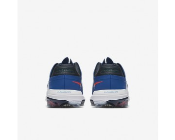 Nike Lunar Control Vapor Golf Mens Shoes Blue Jay/Armoury Navy/White/Solar Red Style: 849971-401