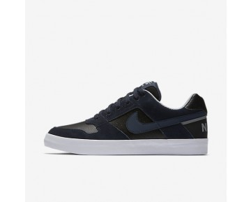 Nike Sb Delta Force Vulc Skateboarding Mens Shoes Obsidian/Black/Wolf Grey/Obsidian Style: 942237-440