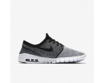Nike Sb Stefan Janoski Max Skateboarding Mens Shoes Dark Grey/White/Black Style: 631303-102