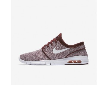 Nike Sb Stefan Janoski Max Skateboarding Mens Shoes Dark Team Red/Circuit Orange/White Style: 631303-618