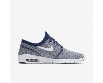 Nike Sb Stefan Janoski Max Skateboarding Mens Shoes Binary Blue/Team Red/White Style: 631303-416