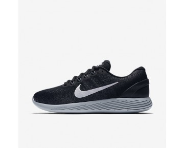 Nike Lunarglide 9 Running Mens Shoes Black/Dark Grey/Wolf Grey/White Style: 904715-001