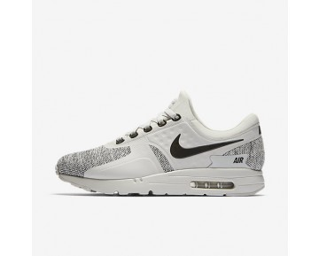 Nike Air Max Zero Se Mens Shoes Light Bone/Black/Black Style: 918232-003