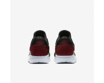 newest collection f0707 cd2ef Nike Air Max Zero Se Mens Shoes Black Pure Platinum Tough Red Tough