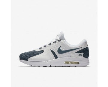 Nike Air Max Zero Se Mens Shoes White/Black/Armoury Blue/Armoury Blue Style: 918232-100