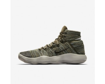 Nikelab React Hyperdunk 2017 Flyknit Basketball Mens Shoes Cargo Khaki/Pale Grey/Cargo Khaki Style: 917728-300