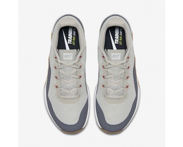 Nike Metcon Repper Dsx Training Mens Shoes Pale Grey/Gum Medium Brown/Dark Grey/Metallic Silver Style: 898048-005