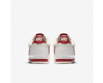 Nike Classic Cortez Leather Se Mens Shoes Sail/Gym Red Style: 861535-103
