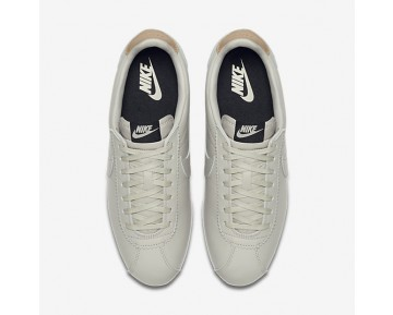 Nike Classic Cortez Leather Se Mens Shoes Pale Grey/Black/Vachetta Tan/Pale Grey Style: 861535-005
