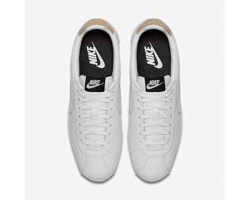Nike Classic Cortez Leather Se Mens Shoes White/Black/Vachetta Tan/White Style: 861535-101