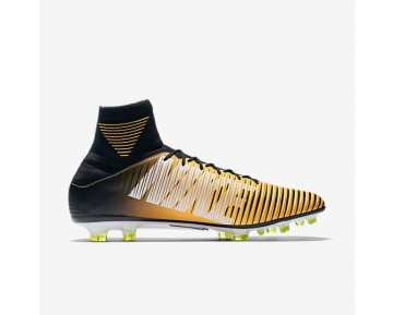 Nike Mercurial Veloce Iii Dynamic Fit Fg Firm-Ground Football Boot Mens Shoes Laser Orange/White/Volt/Black Style: 831961-801