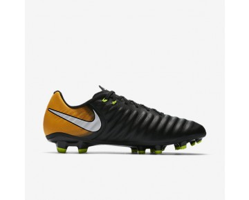 Nike Tiempo Ligera Iv Fg Firm-Ground Football Boot Mens Shoes Black/Laser Orange/Volt/White Style: 897744-008