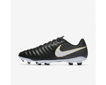 Nike Tiempo Ligera Iv Fg Firm-Ground Football Boot Mens Shoes Black/Black/White Style: 897744-002
