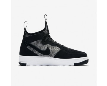 Nike Air Force 1 Ultraforce Mid Premium Mens Shoes Black/White/Black Style: 921126-001