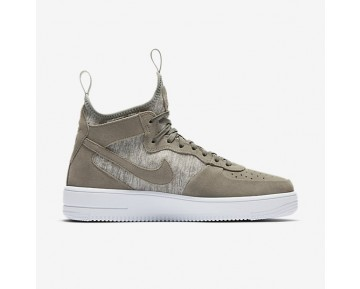 Nike Air Force 1 Ultraforce Mid Premium Mens Shoes Dark Stucco/White/Dark Stucco Style: 921126-002