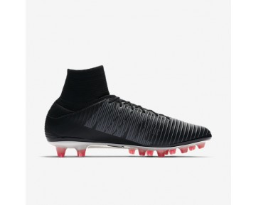 Nike Mercurial Veloce Iii Dynamic Fit Ag-Pro Artificial-Grass Football Boot Mens Shoes Black/Dark Grey/University Red/White Style: 831960-002