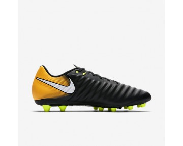 Nike Tiempo Ligera Iv Ag-Pro Artificial-Grass Football Boot Mens Shoes Black/Laser Orange/Volt/White Style: 897743-008