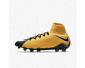 Nike Hypervenom Phatal 3 Df Fg Firm-Ground Football Boot Mens Shoes Laser Orange/Black/Volt/White Style: 852554-801