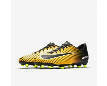 Nike Mercurial Vortex Iii Fg Firm-Ground Football Boot Mens Shoes Laser Orange/White/Volt/Black Style: 831969-801