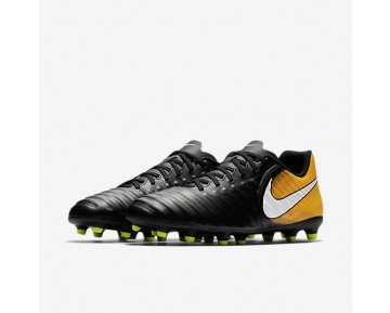 Nike Tiempo Rio Iv Fg Firm-Ground Football Boot Mens Shoes Black/Laser Orange/Volt/White Style: 897759-008