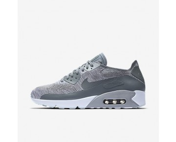 Nike Air Max 90 Ultra 2.0 Flyknit Mens Shoes Pure Platinum/White/Wolf Grey/Cool Grey Style: 875943-003