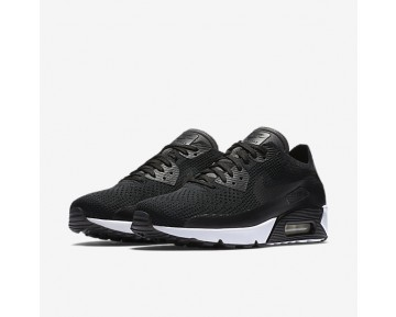 Nike Air Max 90 Ultra 2.0 Flyknit Mens Shoes Black/Black/White/Black Style: 875943-004
