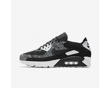 Nike Air Max 90 Ultra 2.0 Flyknit Mens Shoes Black/White/Black Style: 875943-001