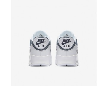 Nike Air Max 90 Essential Mens Shoes White/Armoury Blue/Obsidian/Armoury Blue Style: 537384-133