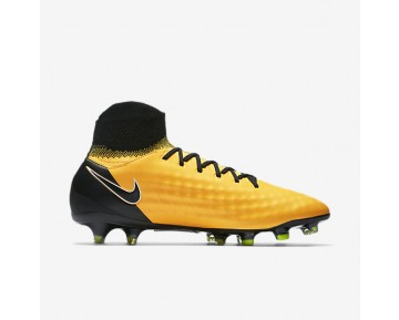 Nike Magista Orden Ii Fg Firm-Ground Football Boot Mens Shoes Laser Orange/White/Volt/Black Style: 843812-801