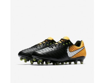 Nike Tiempo Legend Vii Ag-Pro Artificial-Grass Football Boot Mens Shoes Black/Laser Orange/Volt/White Style: 897751-008