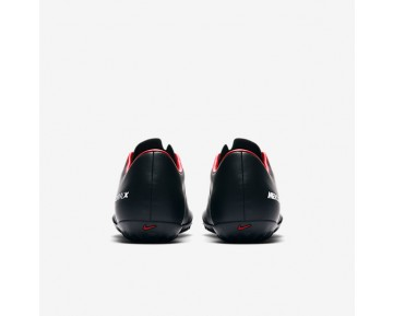 Nike Mercurial Victory Vi Tf Turf Football Mens Shoes Black/Dark Grey/University Red/White Style: 831968-002