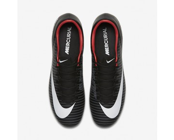 Nike Mercurial Victory Vi Fg Firm-Ground Football Boot Mens Shoes Black/Dark Grey/University Red/White Style: 831964-002
