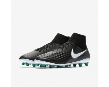 Nike Magista Onda Ii Dynamic Fit Ag-Pro Artificial-Grass Football Boot Mens Shoes Black/Cool Grey/Stadium Green/White Style: 917786-002