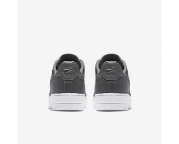 Nike Air Force 1 Flyknit Low Mens Shoes Dark Grey/White/Dark Grey Style: 817419-007