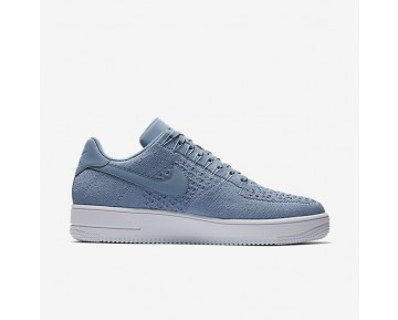 Nike Air Force 1 Flyknit Low Mens Shoes Work Blue/White/Work Blue Style: 817419-402