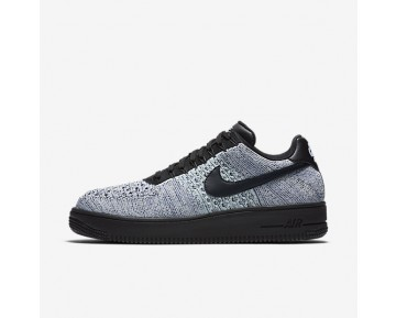 30ec1a73942d Nike Air Force 1 Flyknit Low Mens Shoes Glacier Blue/White/Deep Royal Blue