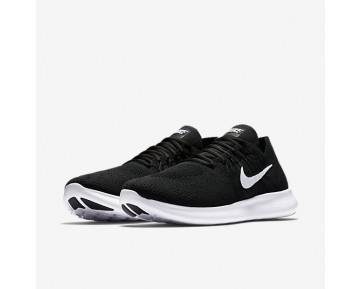 Nike Free Rn Flyknit 2017 Running Mens Shoes Black/Black/Dark Grey/White Style: 880843-001