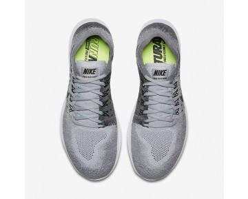 Nike Free Rn Flyknit 2017 Running Mens Shoes Wolf Grey/Anthracite/Cool Grey/Black Style: 880843-002