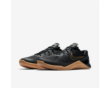 7921020adcdfc Nike Metcon 3 X Training Mens Shoes Black Black Metallic Gold Style  AH7106