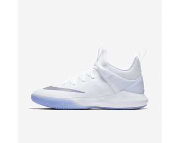 Nike Zoom Shift Basketball Mens Shoes White/Reflect Silver Style: 897653-100
